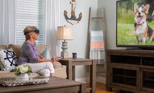 Acesight - watching tv