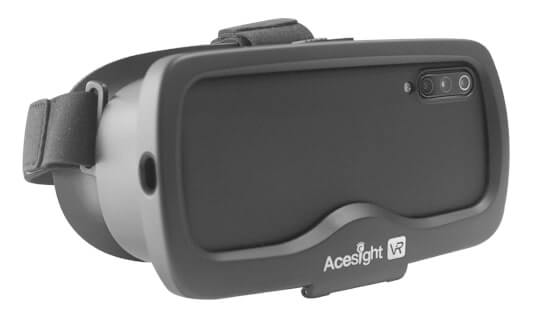 Electronic glasses Acesight VR for low vision