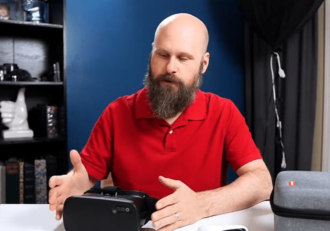 Sam Seavey with Acesight VR